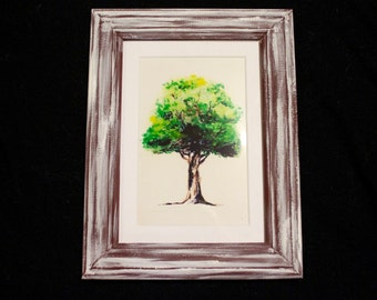 Watercolour Tree Painting