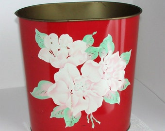 Metal Trash Can Amazing Graphics These Colors Really POP