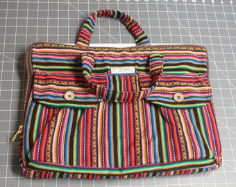 Bohemian Laptop Case (100% Genuine Aguayo made of Cotton)