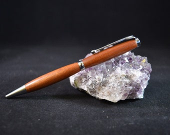 Wooden Pen made from Recycled Wood Hand Crafted and Turned in Devon