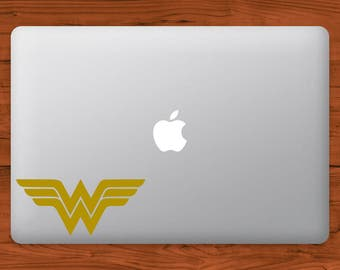 Wonder Woman DC MacBook Decal Laptop Sticker