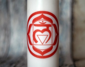 Root Chakra Candle