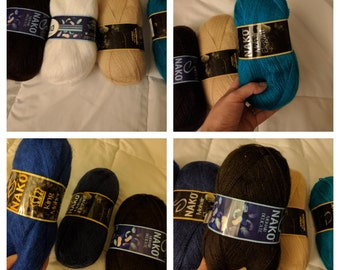 King mohair yarn. Free shipping
