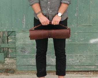 Leather Knife Roll