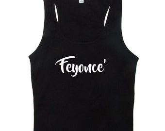 Bridal Party Tank Tops - Feyonce Tank Tops - Bridesmaid Tanks - Bridal Tanks for Bachelorette Party - Bridesmaid Gifts