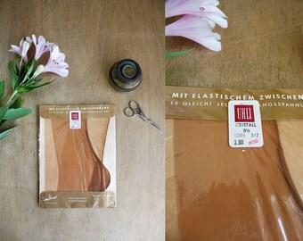 1950s Fully Fashioned Stockings / Dead Stock Vintage / Brand New Vintage Nylons / Uhli Stockings / 50s Unworn Nylons / Size 9 1/2