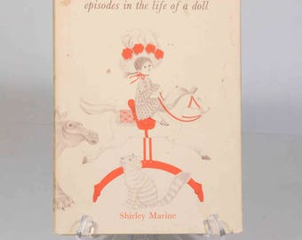 Miss Miranda episodes in the life of a doll by Shirley Marine, illustrated by JoAnna Poehlmann, Milwaukee Museum, children's book, dinosaur