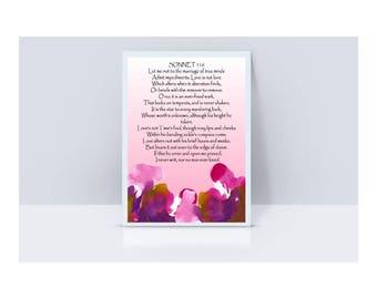Shakespeare - Sonnet 116 - Love - Poem