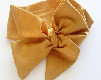 Head wrap { Gold }