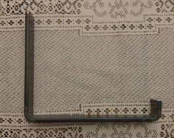 """metal shelf bracket , steel shelf bracket , Industrial shelf bracket , Iron shelf bracket 1 1/2"""""""