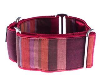Martingale collar, 2inch, greyhound collar, martingale,  dog collar