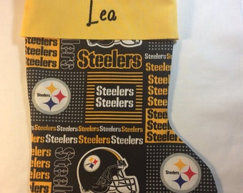 Pittsburgh Steelers Personalized Christmas Stocking