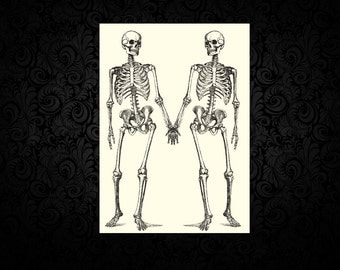 Make Me Feel Alive - Skeleton - Digital Love Card