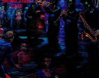 "Joe Sample / David T. Walker - ""Swing Street Cafe"" vinyl"