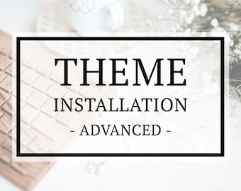 WordPress Theme Installation - Advanced Service Add-on