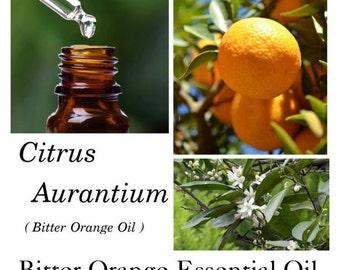 Bitter Orange Essential Oil, Bitter Orange Oil, Citrus aurantium, 100% Pure Authentic Bitter Orange  EO
