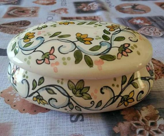portagioie portagioie ceramica artistica italiana