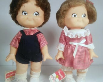 Vintage Campbells Soup Kids Dolls 1988