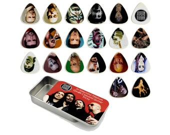 System of a Down Guitar Picks Quality Gift Tin - Set of 20