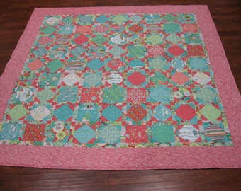 Peppermint Christmas Quilt