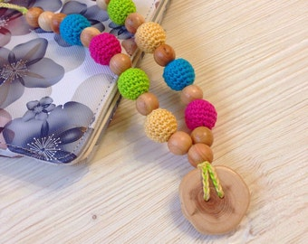 Nursing necklace/ Teething necklace/ Breastfeeding/ chew beads/ Baby Nursing necklace/ Chomping Necklace