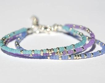 Tiny bracelet for her Friendship bracelet Bohemian jewelry Bohemian bracelet Girlfriend Gift for her Daughter gift Sister gift Friend gift