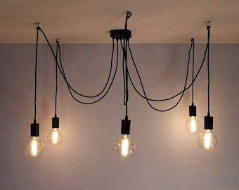Pendant light etsy aloadofball Image collections