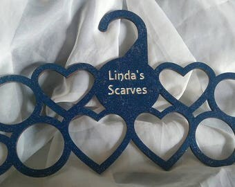 Personalised scarf holder