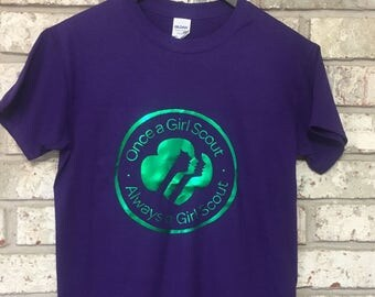 Forever a Girl Scout_Adult Tee