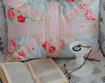 Pillow British Flag Shabby chic