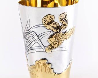 "Silver glass ""Iris"" 1306"