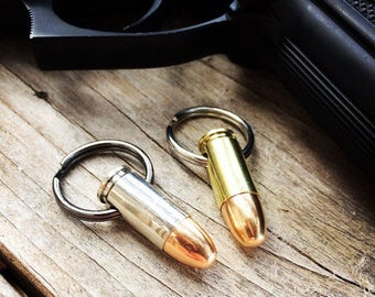 9mm Bullet Keychain - Once Fired