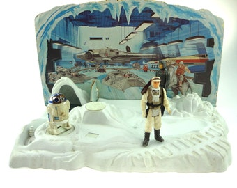 Vintage Star Wars Rebel Command Center Complete VERY RARE
