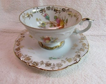 Schumann Tea Cup and Saucer
