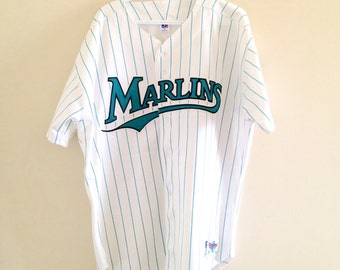 0a584f20d4f0bc Florida Marlins Russell Athletic Diamond Collection Baseball Jersey ...