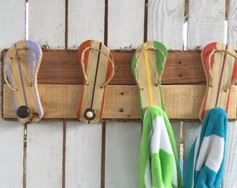 Beach Towel Rack Etsy