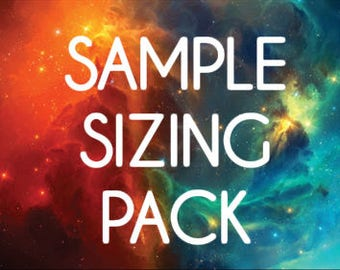 Sample Sizing Pack of False Nails | Little Nail Designs