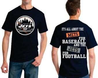 Mets for Baseball Jets for Football