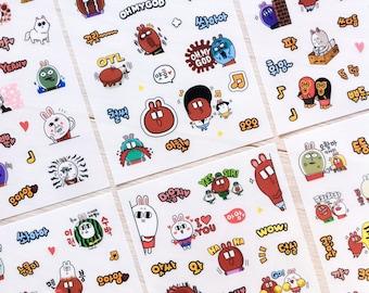 Cute stickers 'majo & sady vol. 2'   Cute Stationery