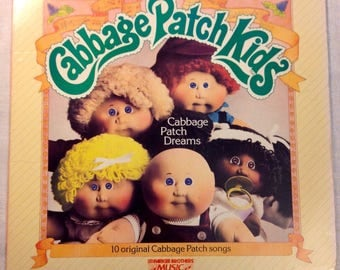 Cabbage Patch Kids - Dreams LP Vinyl Children's Record Album 1984 Parker Brothers PB-7216