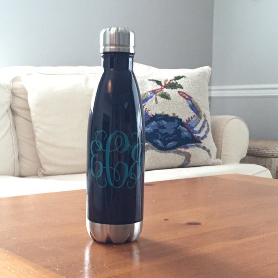 Personalized Stainless Steel Water Bottle Monogrammed Swell