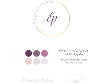 Logo Design modern Branding-Kit download logo for web, blog,
