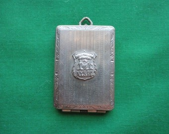 1920's NY State Police Corps Insignia Case