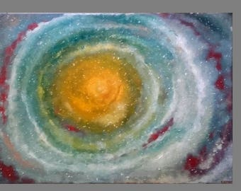 Galaxy Painting Art|Milky Way|Space Art Painting|Cosmic Art Painting|Original Acrylic Painting|Acrylic on Canvas|Abstract Painting|Wall Art