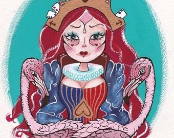 Princess of Hearts - Fine art PRINT