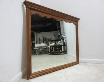 Ethan Allen Circa 1776 Hanging Wall Dresser Mirror