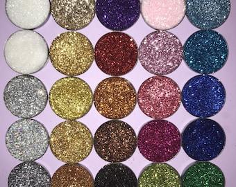 4 PACK SALE Pressed glitter eyeshadow