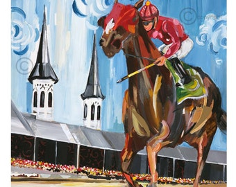 Kentucky Derby 2017 Print
