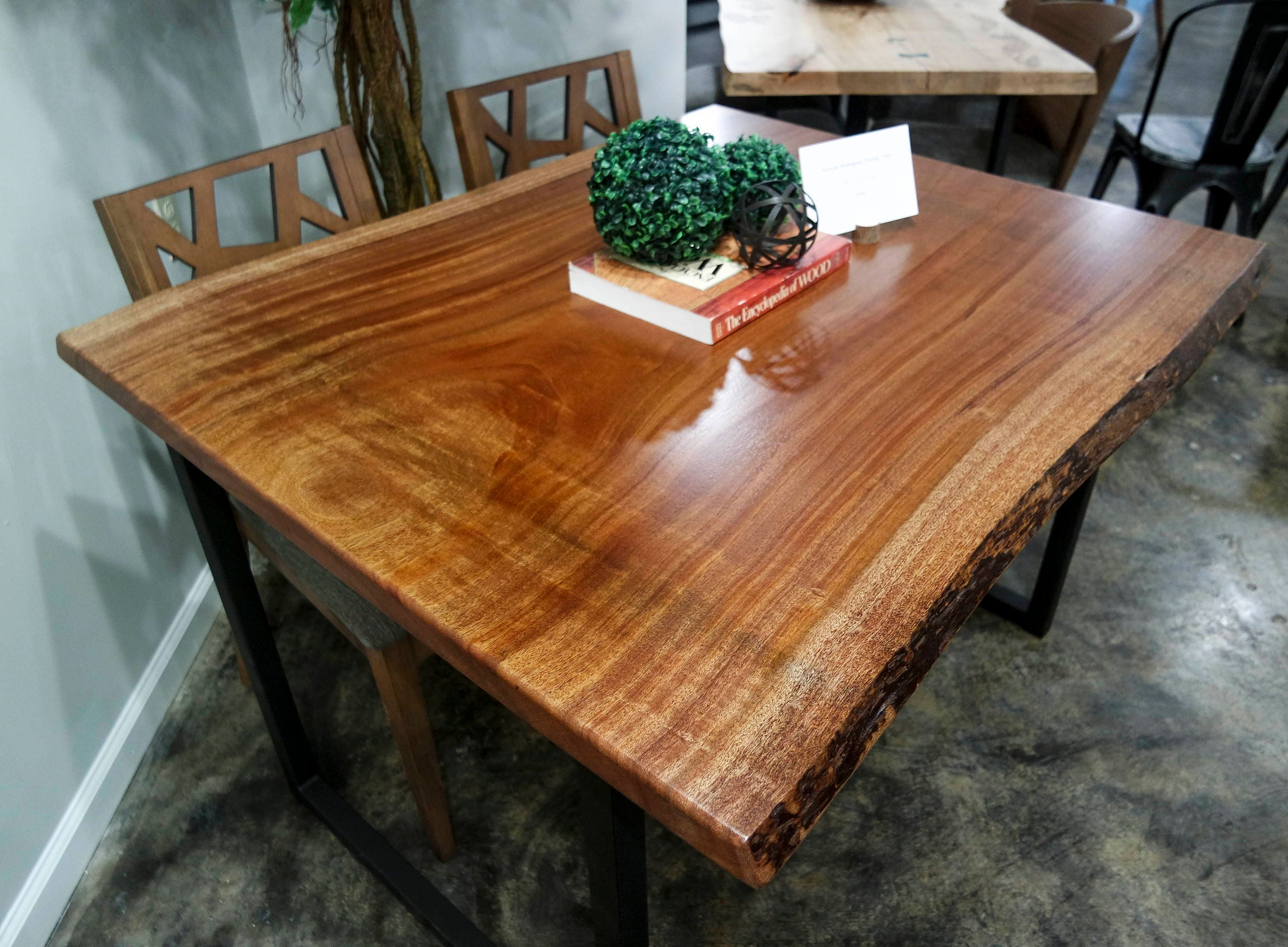 Live edge dining table for sale - 1
