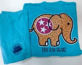Live Oak Tennessee Elephant tee shirt NEW